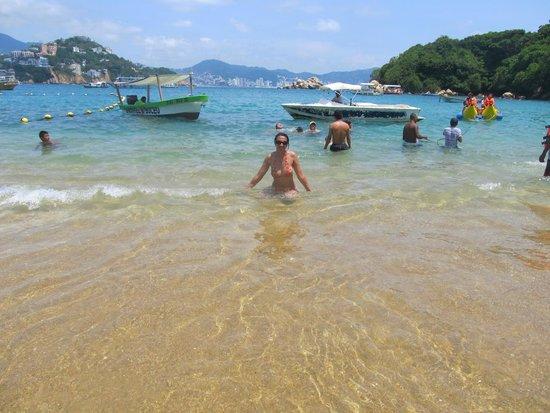 Hotel Acamar Acapulco: Ilha de Roqueta