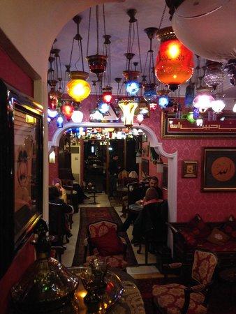 Kybele Cafe Restaurant: Очень красивый интерьер