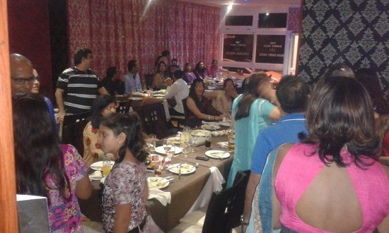 Diwali night celebration at the curry mile by the local indian community.