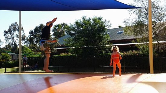 Discovery Parks - Dubbo : Giant Trampoline Area