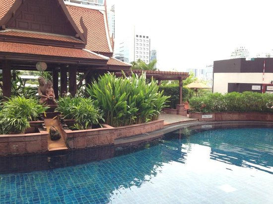 Desk Area - 플라자 아테네 방콕 로열 메르디앙 호텔, 방콕 사진 ...