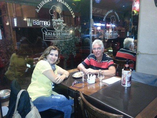 Locos De Asar: Jantando em Montevideo