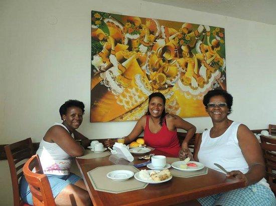 Nacional Inn Salvador: Café da Manhã delicioso e de frente para o mar....