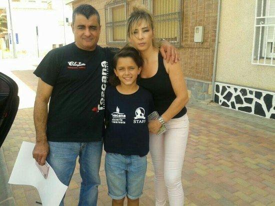 Roldan, Spain: Con el balilla