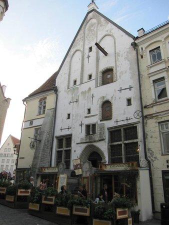 Estlander : Edificio que alberga el restaurante