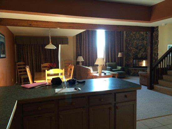 Lake Placid Club Lodges: Parte inferior da casa!