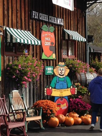 Fly Creek Cider Mill & Orchard : Fun at Fly Creek