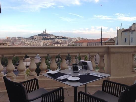 Les Fenêtres : photo de la terrasse