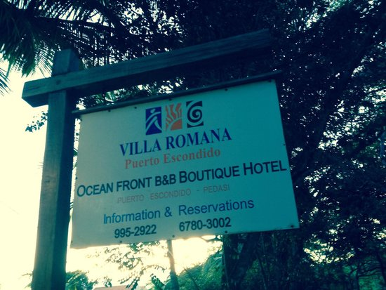Hotel Villa Romana : Entrada