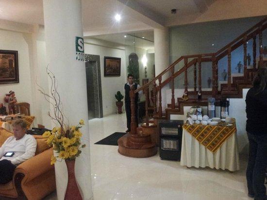 Sol Plaza Hotel Puno: Lobby