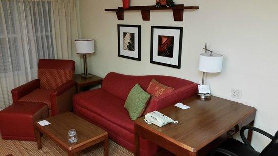 Residence Inn Cranbury South Brunswick: Living Area