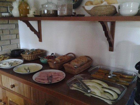 Pousada Refugio do Selado: guloseimas do café da manhã