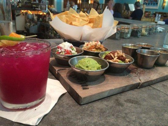 La Condesa: Guacamole Tasting