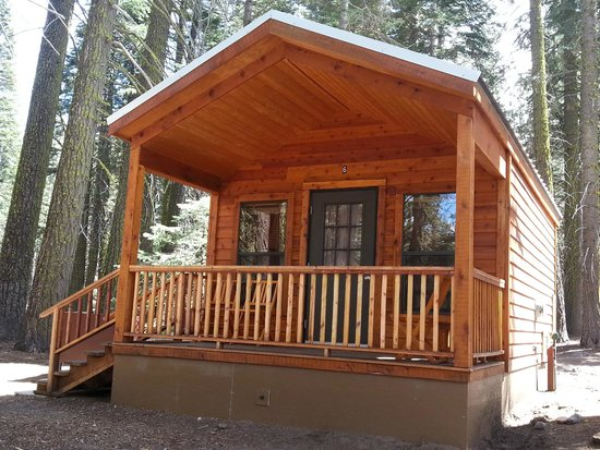 Cabin 6 picture of manzanita lake camping cabins for Lassen volcanic national park cabins