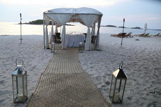 The St. Regis Punta Mita Resort: Cenas especiales