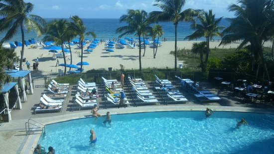 Beach Pool Picture Of B Ocean Resort Fort Lauderdale