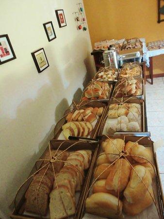 Pousada Palmeira Imperial: Café da manhã, excelente!