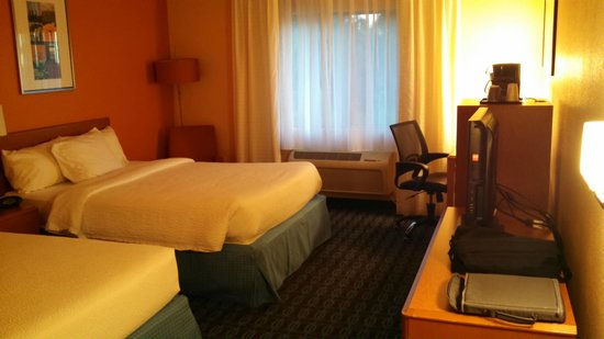 Fairfield Inn & Suites Phoenix Mesa: Fairfield Mesa Double Bed Room