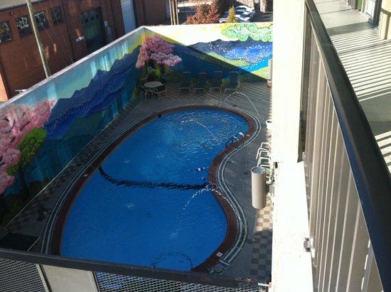 Downtown Inn & Suites: Nice Pool!