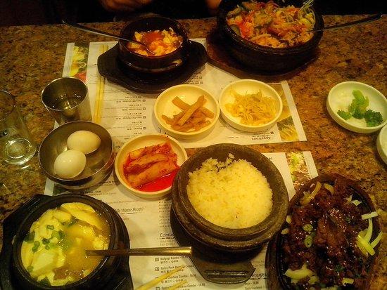 Seoul House of Tofu: Bibimbap combo & Bulgogi combo