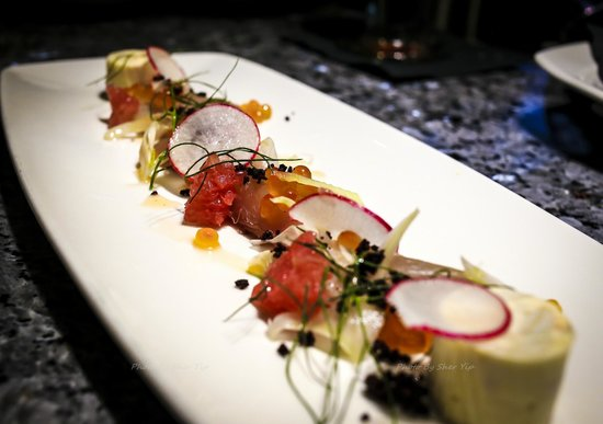 Stefano's: Mackerel Crudo