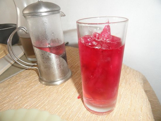 Sentinela do Sul: chá hibisco