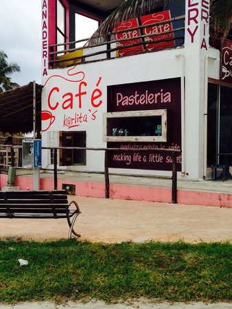 Easy to find Cafe Karlita's