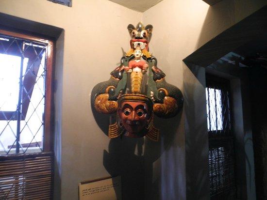 Ariyapala Mask Museum: Inside the museum (1)