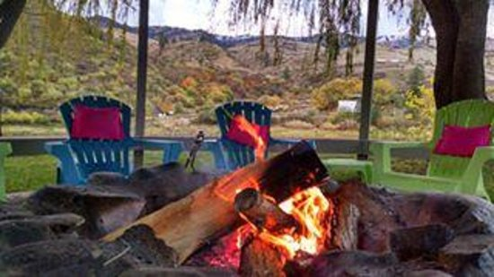 Swiftwater RV Park: Fall at Swiftwater