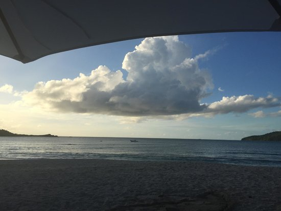 Hermitage Bay: Sky during the day