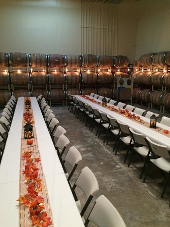Cantara Cellars: Event space
