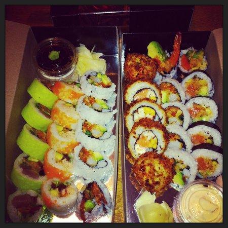 Sushi Taxi: Livraison de sushis frais