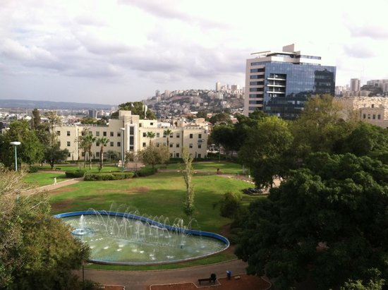 Bay Club Haifa Hotel - an Atlas Boutique Hotel: View from our room's terrace
