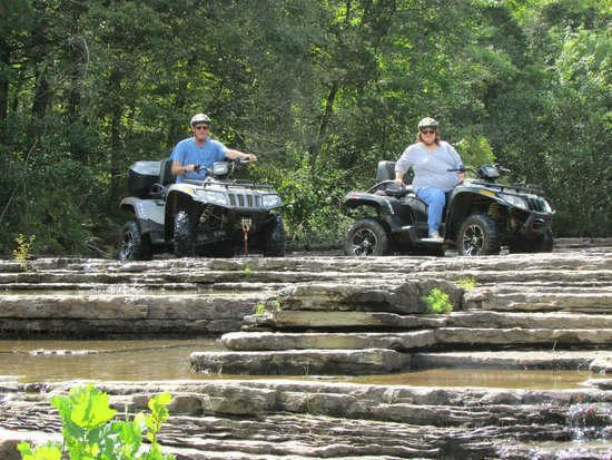 The Lodge at Mount Magazine : the best atv tour EVER!!!