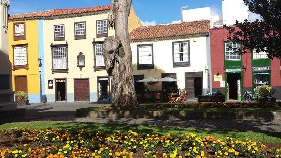 San Cristobal de La Laguna, Spanje: Kleiner Platz in La Laguna