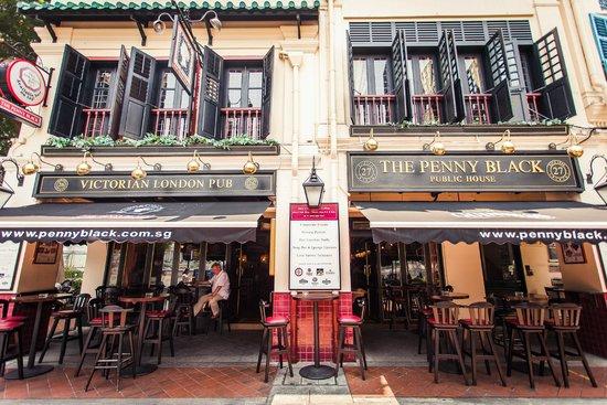 The Penny Black Victorian London Pub