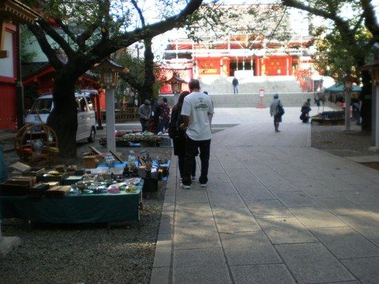 Hanazono Shrine: Antique Market at Shrine