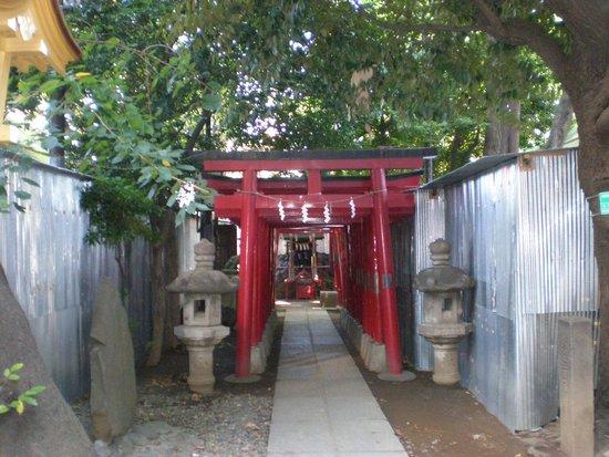 Hanazono Shrine: Small Shrine on the property