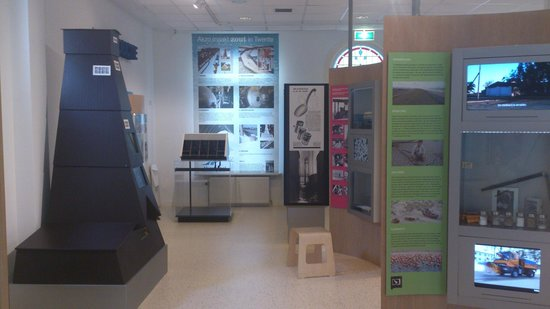 Delden, The Netherlands: An exposition room in the museum
