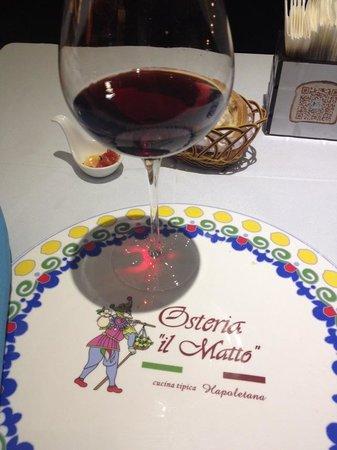 Osteria Il Matto: The wine