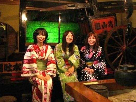 Sankai : 毎日開催!フーフー囲炉裏体験♪