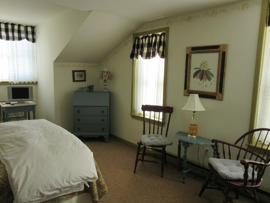 Captain Stannard House Bed and Breakfast Country Inn : Bedroom