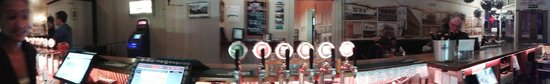 Star and Garter Hotel: Monteiths on Tap and our Star and Garter Draught