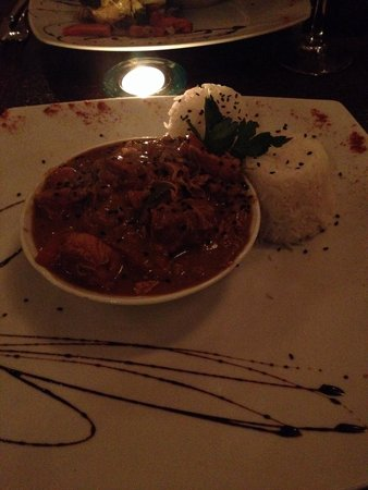 La Luna : Pollo al curry