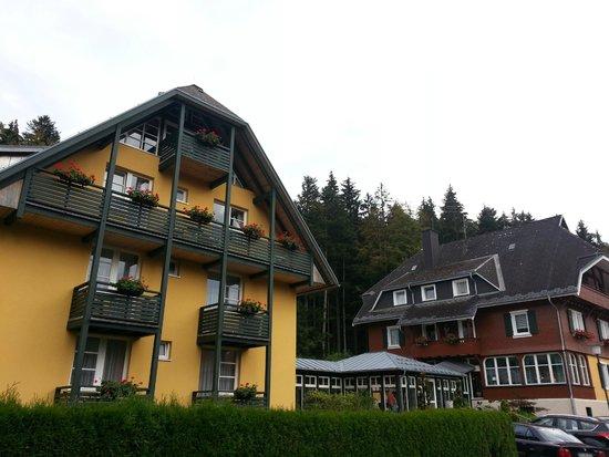 Erfurths Bergfried Ferien & Wellnesshotel: We had the top suite with wonderfull view.