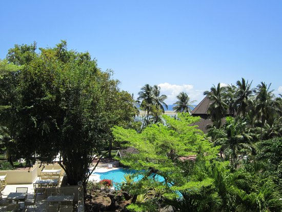 Diani Reef Beach Resort & Spa: view from balcony