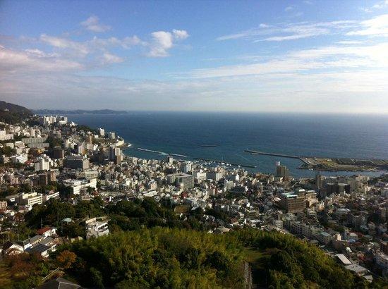 Hoshino Resorts RISONARE Atami : 部屋からの眺望
