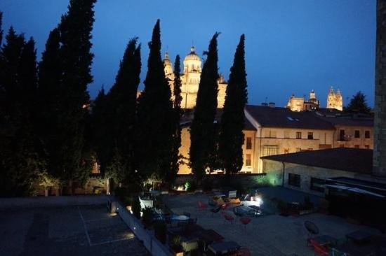 Hotel Hospes Palacio de San Esteban: vista desde habitacion 12