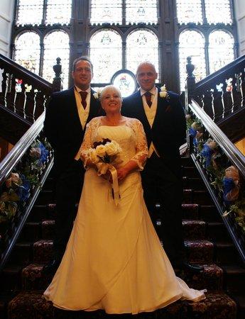 BEST WESTERN Oaks Hotel & Leisure Club : staircase