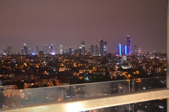 Le Meridien Istanbul Etiler: from our terrace